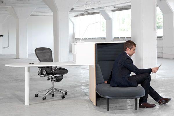 Integrated Workstation le bureau évolué par Matthew Plumstead