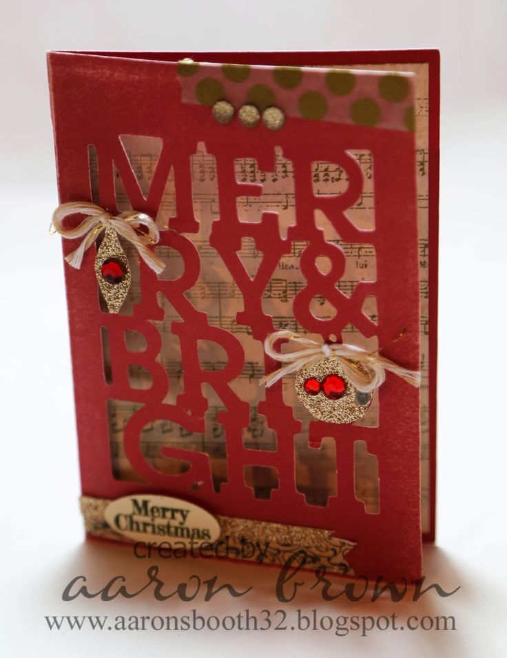 Booth #32: Merry & Bright Artfully Sent Card