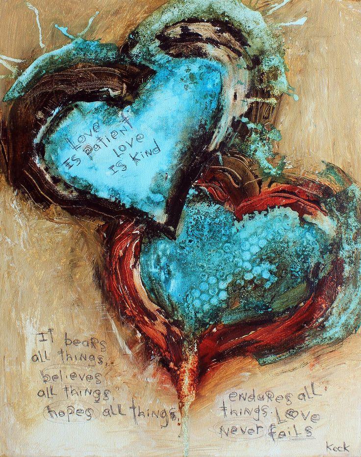 17 besten hearts - herzen - paintings Bilder auf Pinterest ...