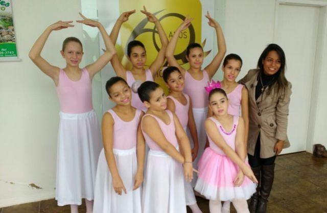 Projeto Cidadãos do Futuro ganhou aulas de balé em Quarto Centenário