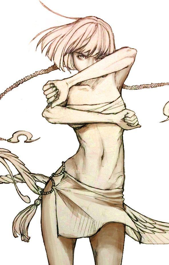 Kunoichi, Harori Chéi on ArtStation at https://www.artstation.com/artwork/JO0WR