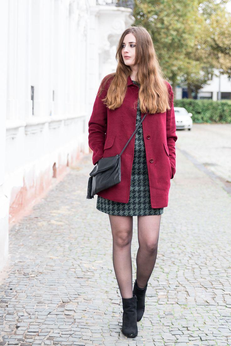Was du wissen solltest, BEVOR du einen Blog gründest! Gerry Weber Burgundy Coat Fashionblogger (andysparkles)