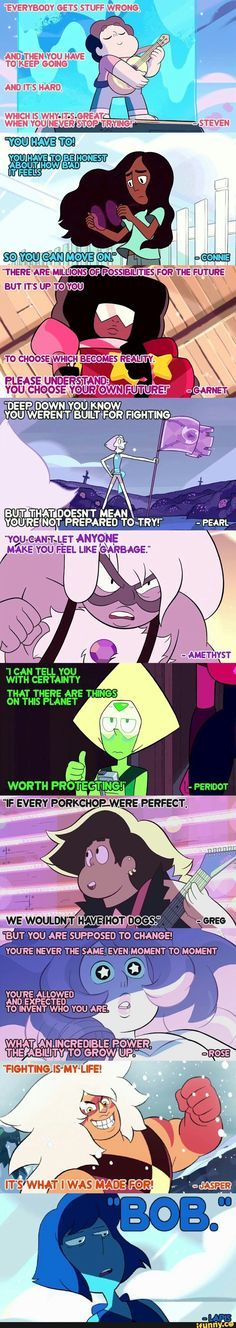 LOLOLOLOL my favorite quote is Lapis's/Bob's Quote.