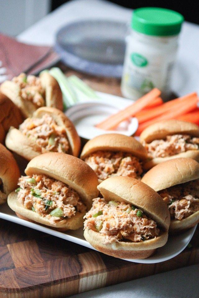 Barbecue Ranch Chicken Salad Sliders | Aggie's Kitchen