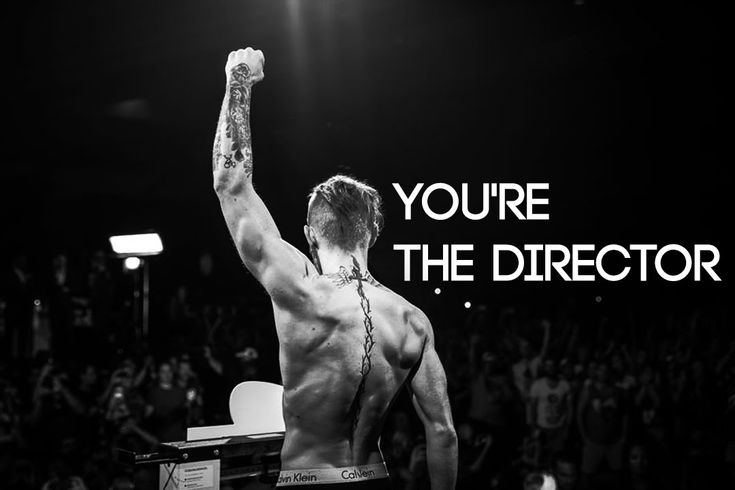 YOU'RE THE DIRECTOR - MOTIVATIONAL VIDEO