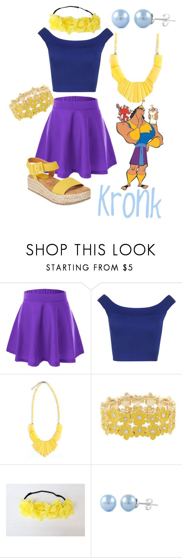 """""""Kronk"""" by princessestrada ❤ liked on Polyvore featuring WearAll, Liz Claiborne and Kenneth Cole Reaction"""