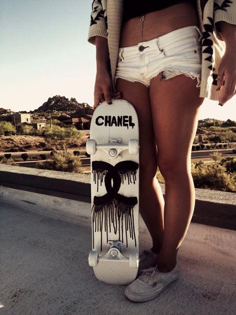 Cool skater chick #Fashiolista #Inspiration