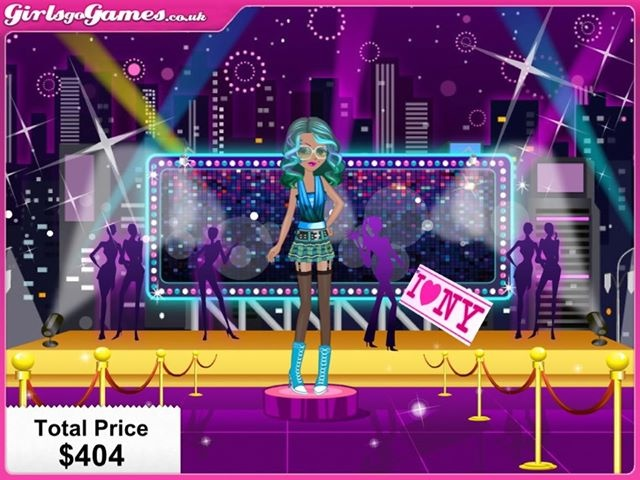Trinity designed this electric look for a great night out in New York! Thanks for sharing, Trinity :)