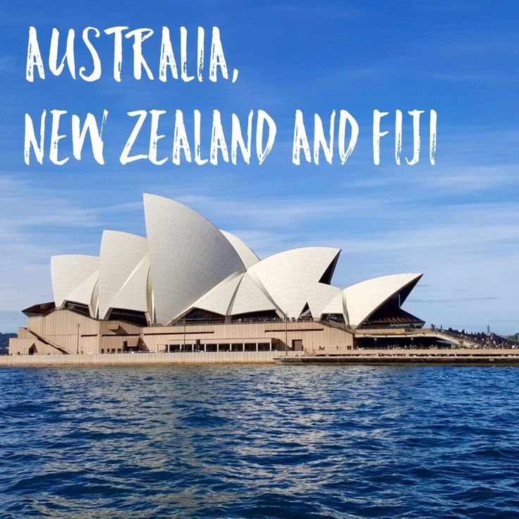 Australia, New Zealand and Fiji
