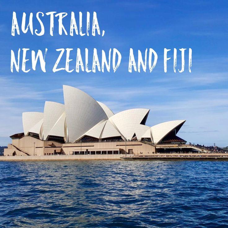 Australia, New Zealand and Fiji