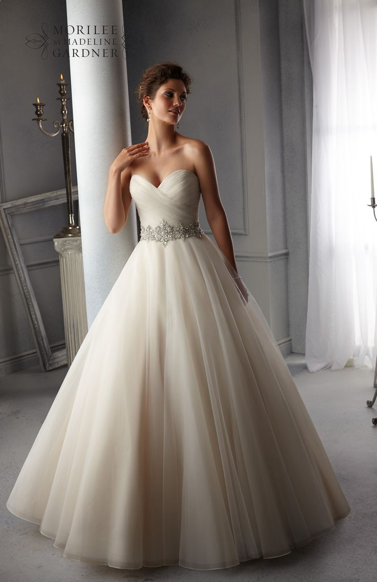 41 best wedding dresses images on pinterest marriage wedding beautiful tulle ball gown with sweetheart neckline blu by mori lee bridal gown 5276 ombrellifo Images