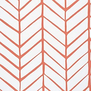 Feather Wallpaper Swatch – Coral #serenaandlily