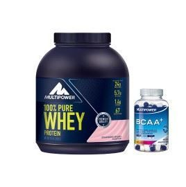 Multipower %100 Pure Whey Protein + BCAA Plus