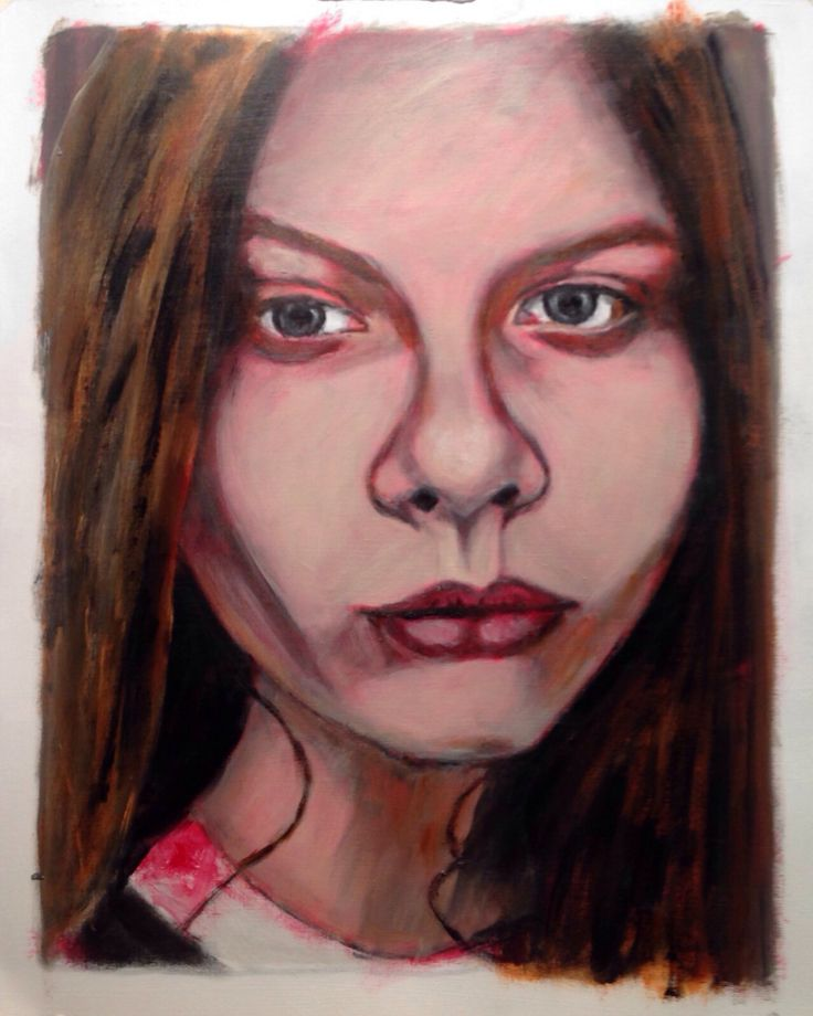 Young Russian artist Arina