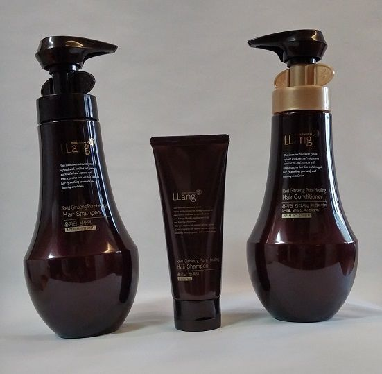Korean Red Ginseng Pure Healing Hair Shampoo set LLANG HONGKIDAN SHAMPOO SET  #KGC
