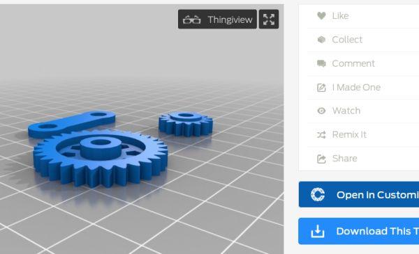 Make 3d printable Gears Easy!