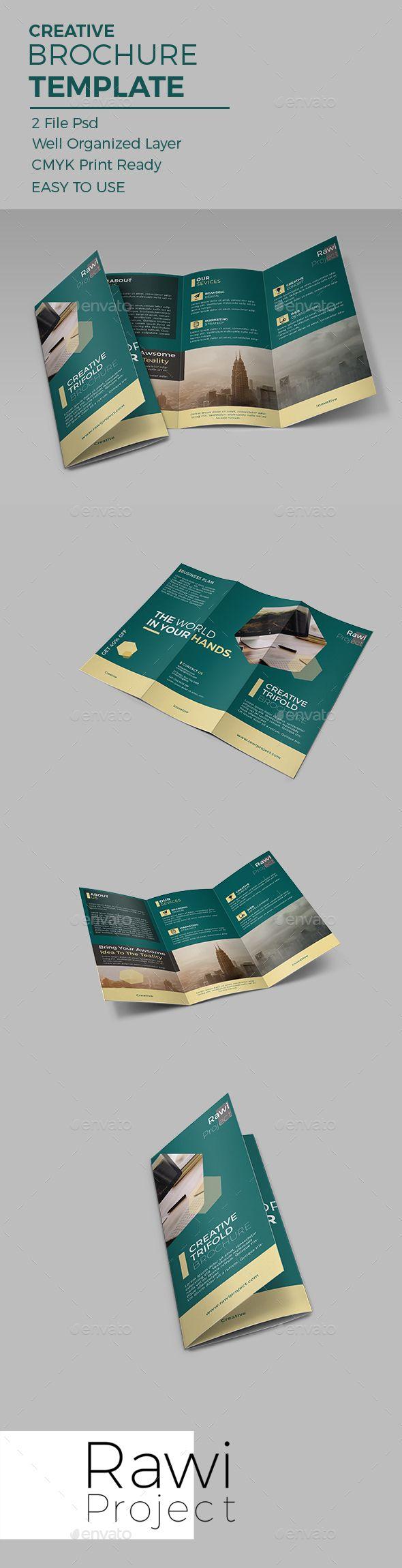 Creative Brochure Template Brochures Print Templates