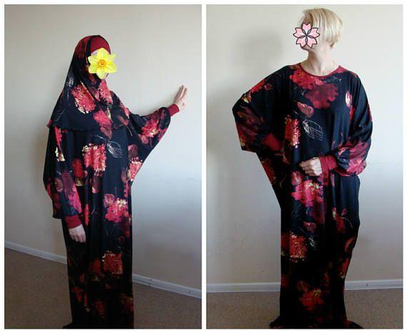 Black Maxi Dress Plus Size, Prayer dress, Farasha Caftan, maternity wear, Muslim clothing, abaya Dress, Modern hijab, Burqa, Home clothes