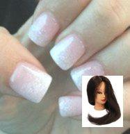 Best gel manicure ideas for short nails white 43 Ideas