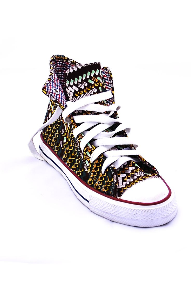 Sneakers Made with African fabrics – KiP Fashion