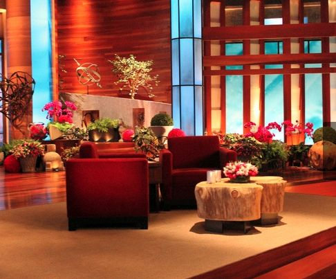 Ellen Degeneres Set. Los Angeles, California.