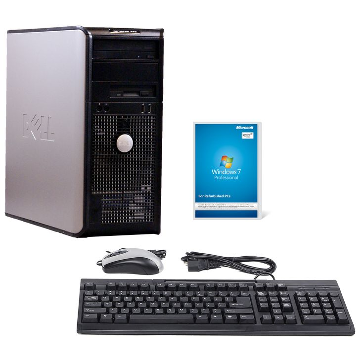 Dell OptiPlex 760 3.33GHz 750GB MT Computer