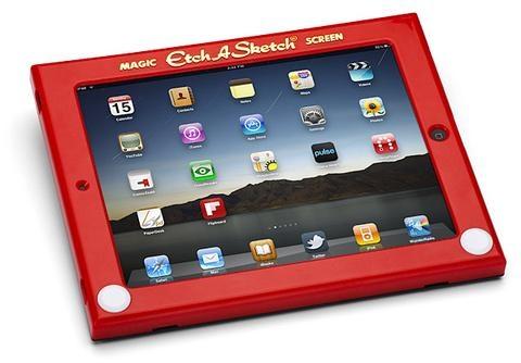 Etch A Sketch Ipad Case | Think Geek