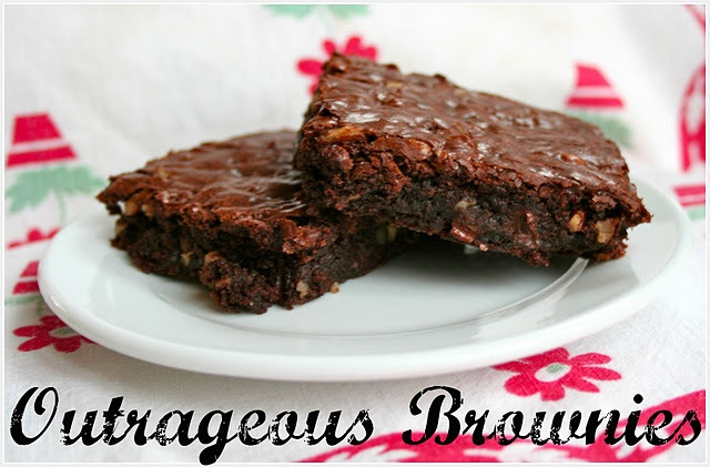 OUTRAGEOUS BROWNIES | FOOD: Desserts, Bars, Brownies | Pinterest ...