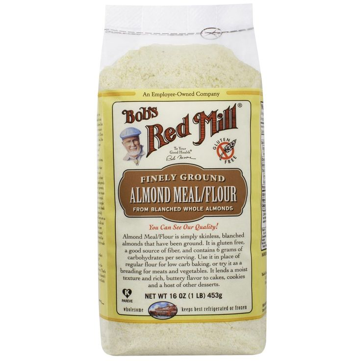 Bob's Red Mill, Almond Meal / Flour, Gluten-Free, 16 oz (453 g)