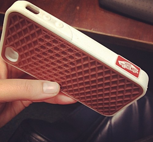 case, iPhone, Vans / trainers sole type non -slip mobile phone case / had one myself for my old I phone 4
