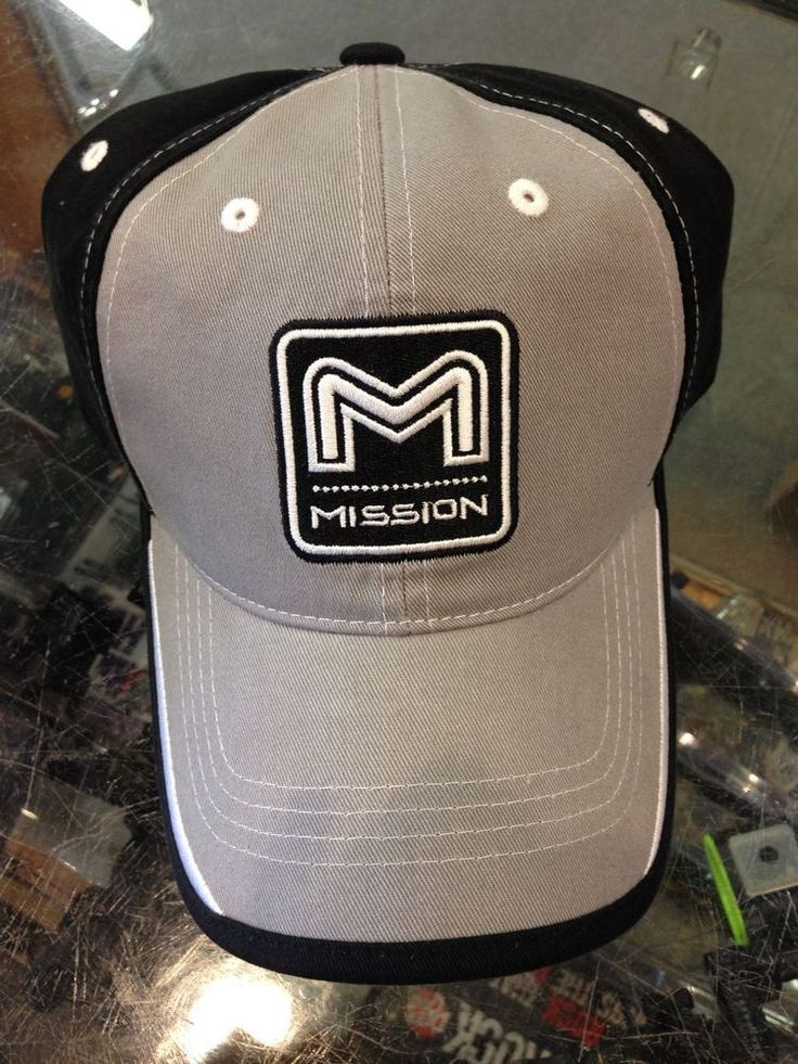 Mission Archery Black/Grey Hat