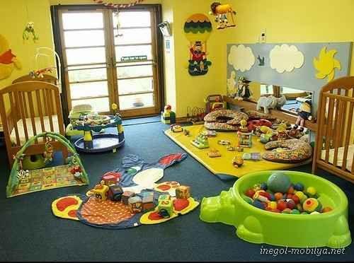 awesome Çocuklar İçin Rengarenk Oyun Odaları