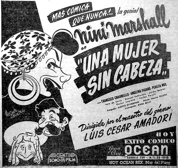 1947 - UNA MUJER SIN CABEZA - Luis César Amadori