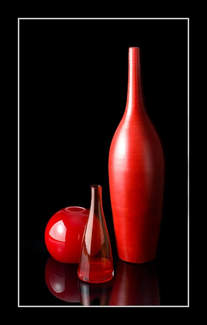 Red bottles...love anything red:)