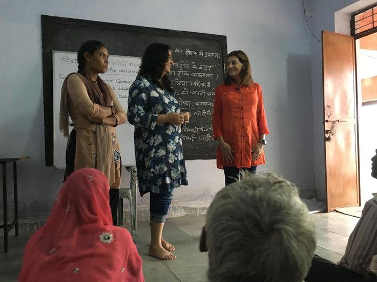Shanti, Safeena and Phyllis