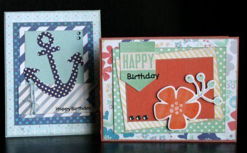 #Feb SSZ CT His & Hers Birthday Cards-Jennifer Watson
