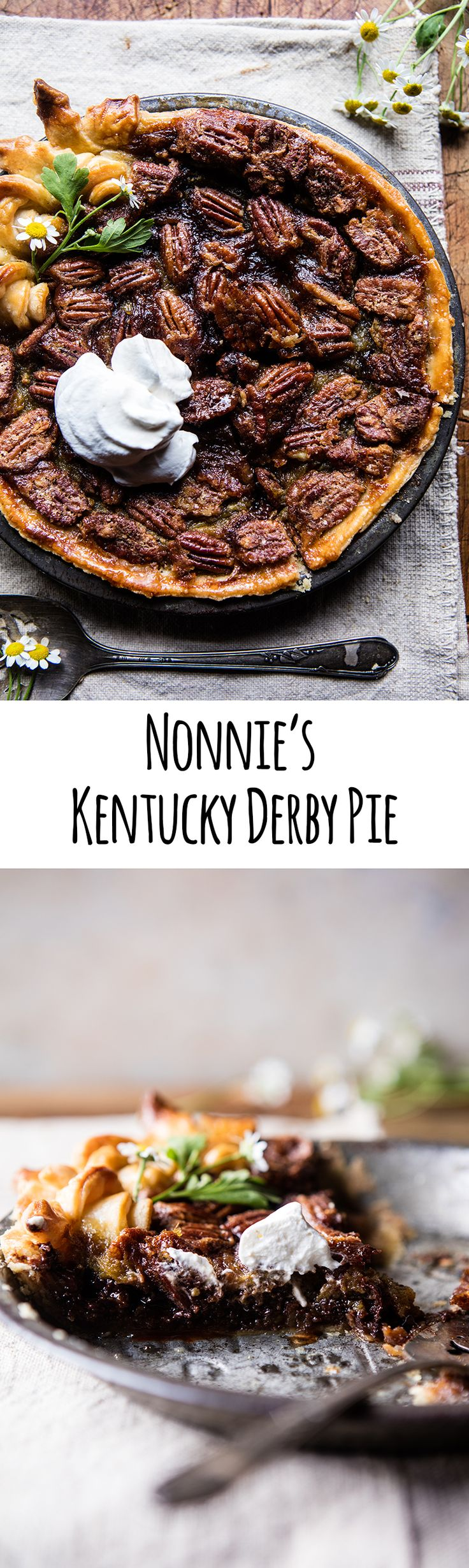 Nonnie's Kentucky Derby Pie | halfbakedharvest.com @hbharvest