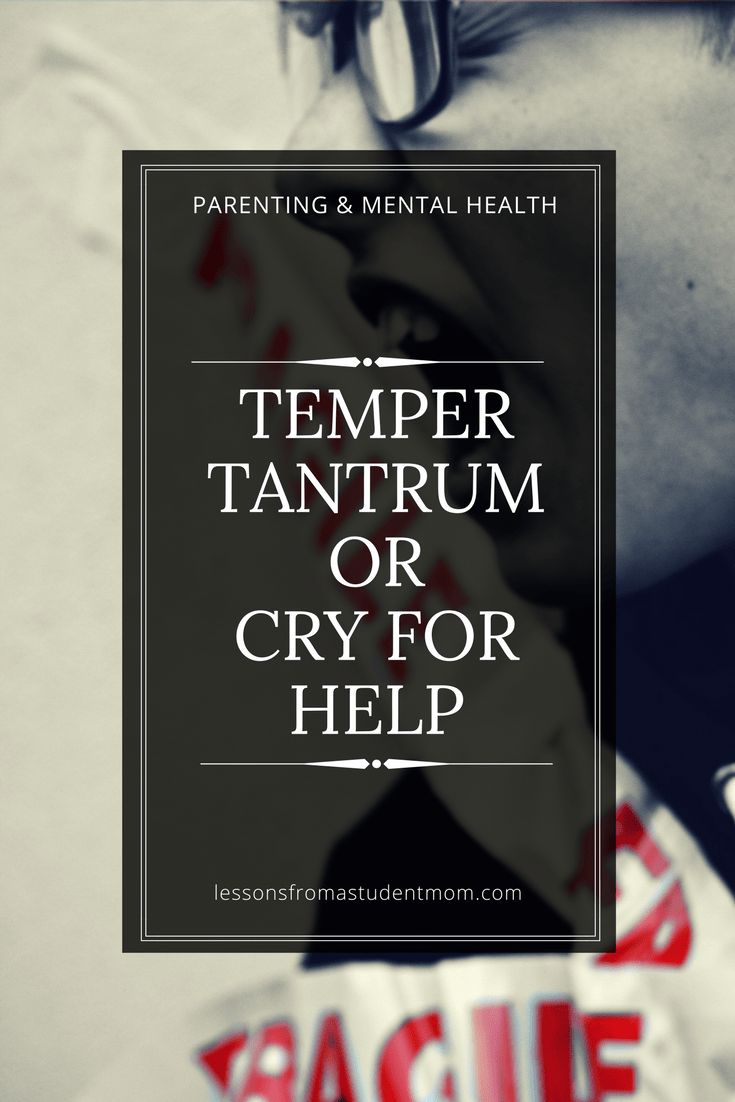 Children get upset, but what they do with that emotion is what may be a cause for concern. Is your child having normal childhood temper tantrums, or are they crying out for help?