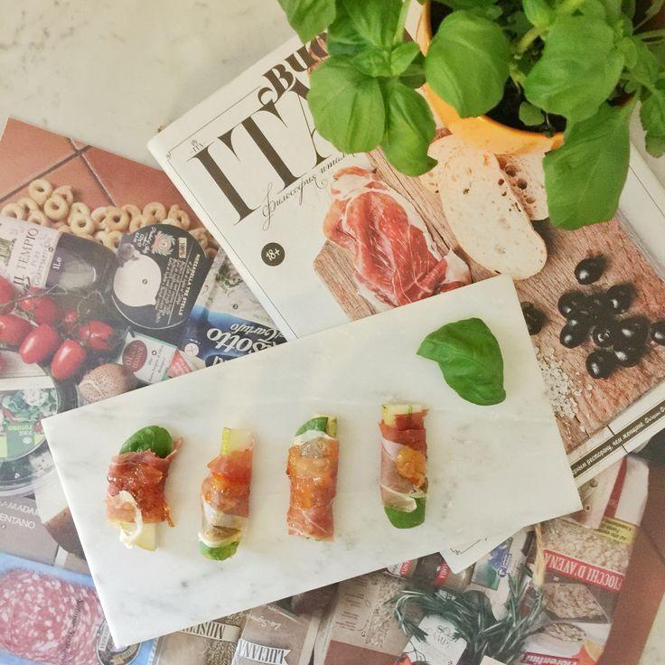 Prosciutto Pear bites by #praguepicnics #appertizer #pear #prosciutto #foodporn #cateringbypraguepicnics