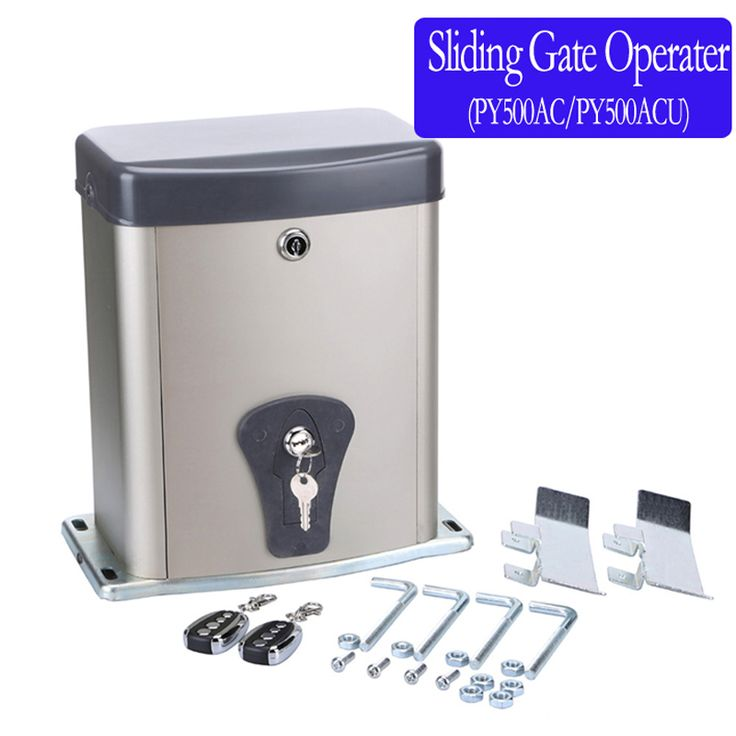Automatic sliding gate opener 220VAC/110VAC 500KG heavy duty automatic sliding gate opener /sliding gate motor #Affiliate