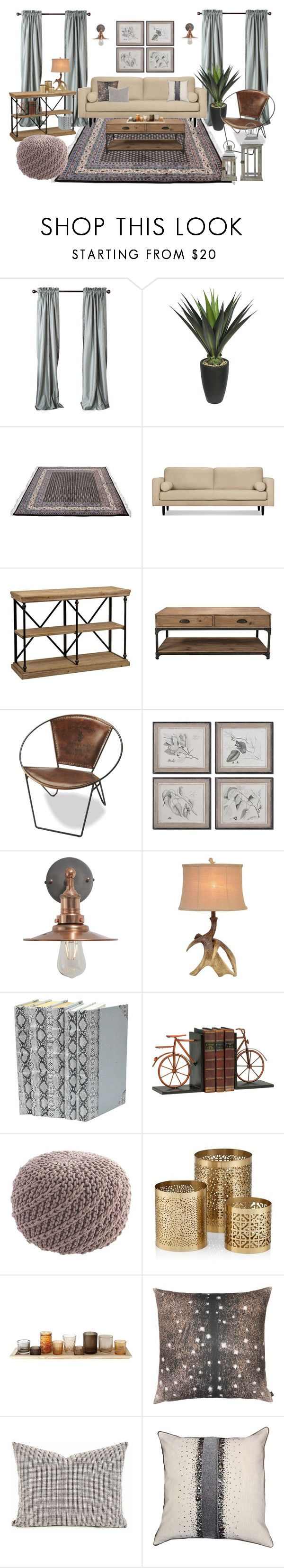 """Country"" by sally-w on Polyvore featuring interior, interiors, interior design, home, home decor, interior decorating, Laura Ashley, Volo Design, Murphy and Thos. Baker"