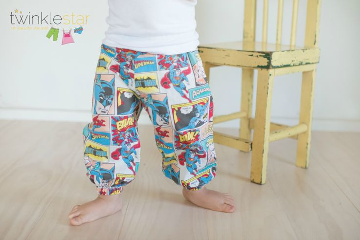 Modern harem pants by Twinkle Star