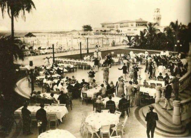 La Habana, Cuba, Baile en el Havana Yacht Club ,1925