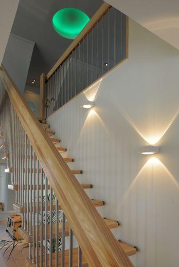 LED-belysning i modern villa - Lighthouse