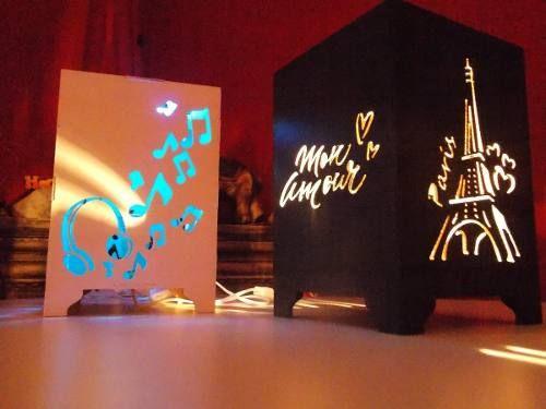 Veladores De Fibrofacil,torre Eiffel!!ideal Regalo!! - $ 229,00