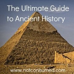 Ultimate Guide to Ancient History; this is a blog post full of so many resources for studying ancient history including aps, books, crafts and more.