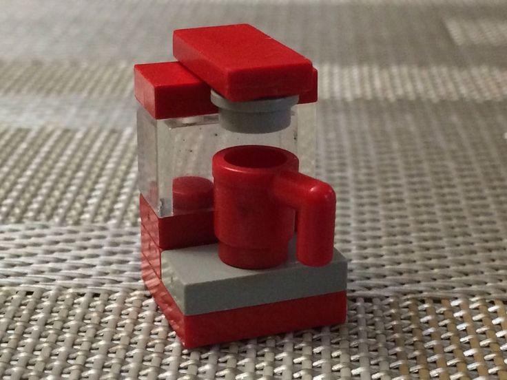 Lego Coffee Maker Red Grey | eBay