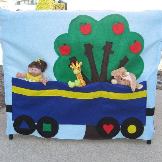 Kids Playhouse All Aboard Train Station Fits door missprettypretty