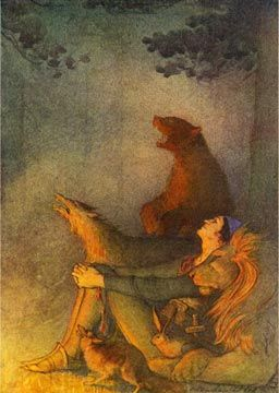 Elenor Plaisted Abbott, 1875-1935 - An illustration from Grimm's Fairy Tales