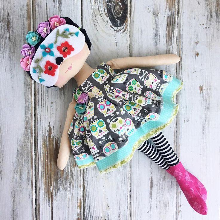 Dia Delos Muertos Doll by SpunCandy